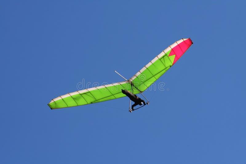 небо hangglider стоковое изображение