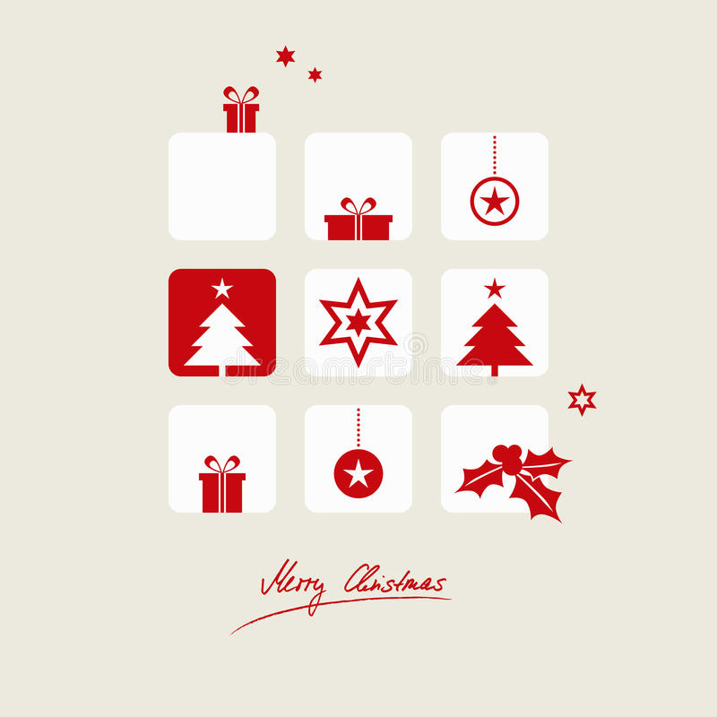небо klaus santa заморозка рождества карточки мешка иллюстрация вектора