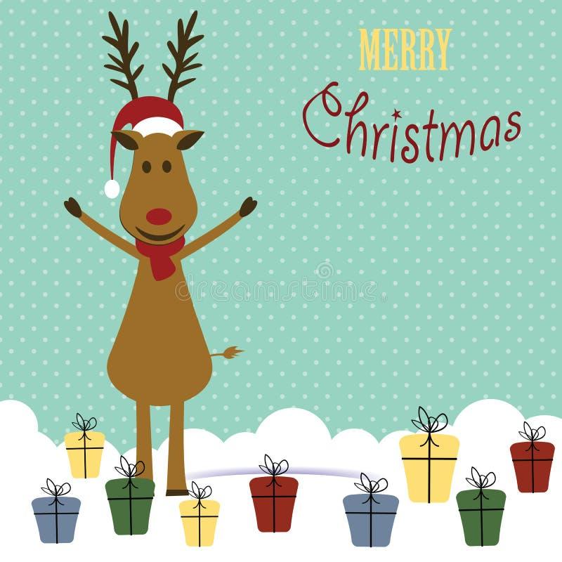 небо klaus santa заморозка рождества карточки мешка бесплатная иллюстрация