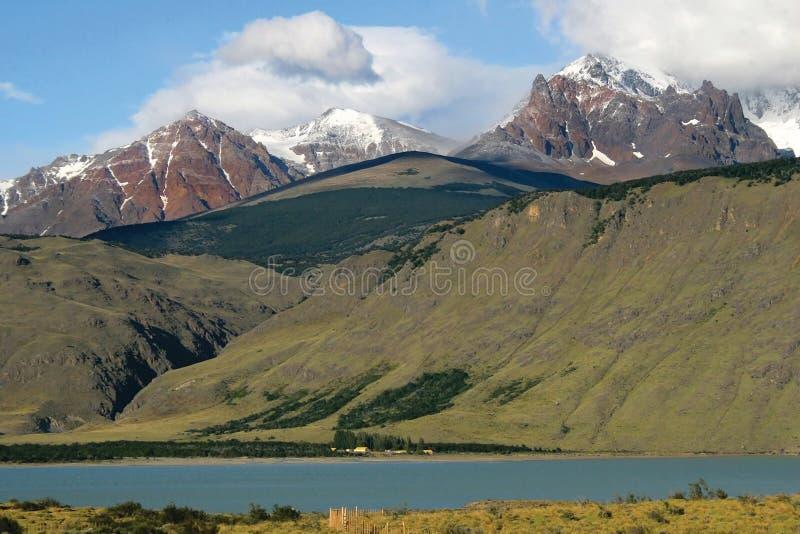 небо patagonia гор стоковая фотография