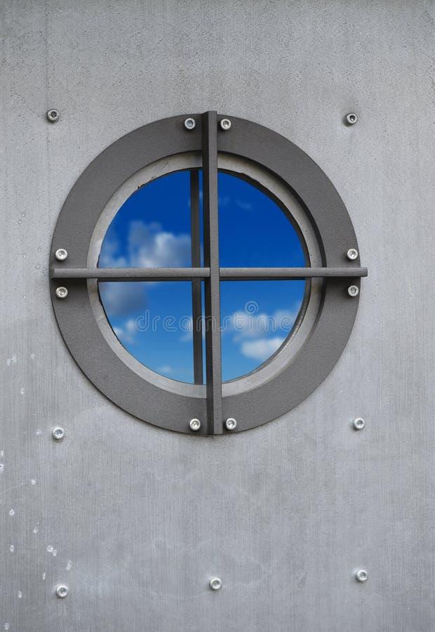 небо porthole стоковые фотографии rf