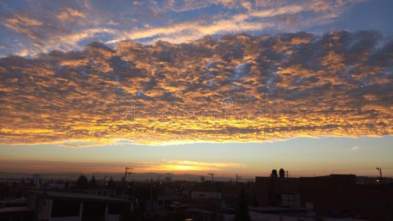 Небо San Luis potosi стоковая фотография