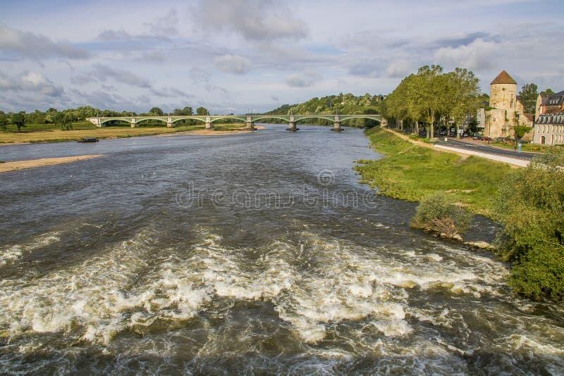 Невер, Бургундия, Франция стоковое фото