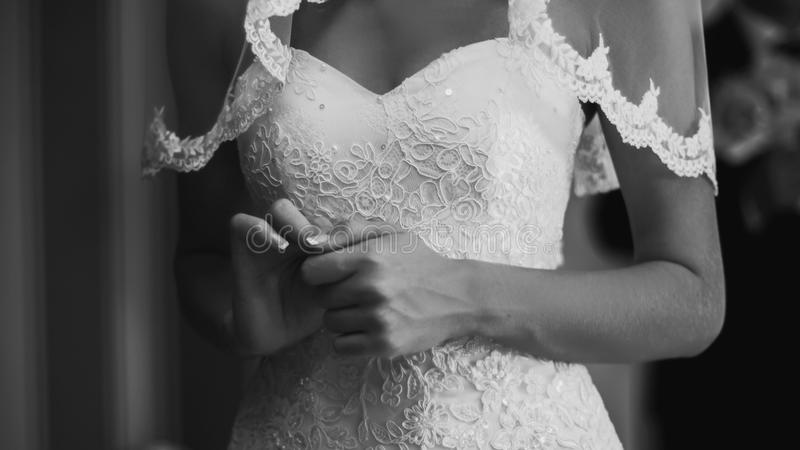 Невеста в ждать стоковые изображения rf