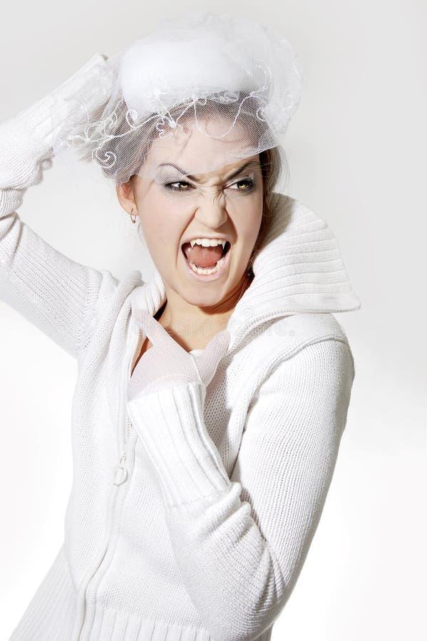 Download невеста Дракула стоковое изображение. изображение насчитывающей укусы - 6863961