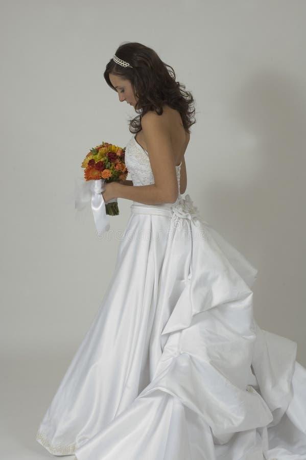 невеста заботливая стоковая фотография