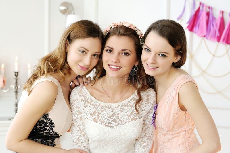 Невеста команды стоковые фотографии rf