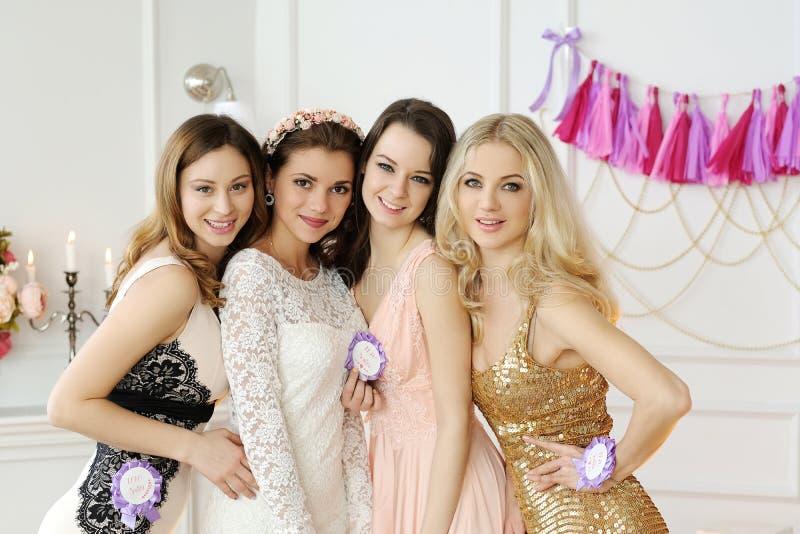 Невеста команды стоковая фотография rf