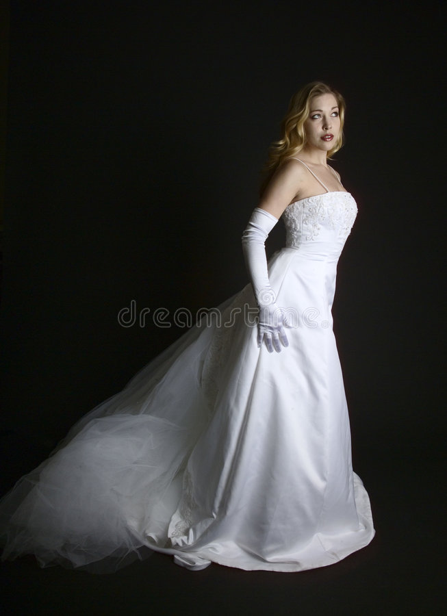 невеста симпатичная стоковое фото