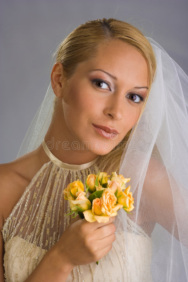Download невеста 3 стоковое изображение. изображение насчитывающей удерживание - 6862187
