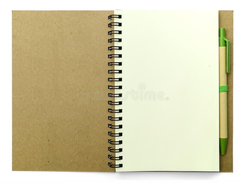 дневник мой стоковая фотография rf