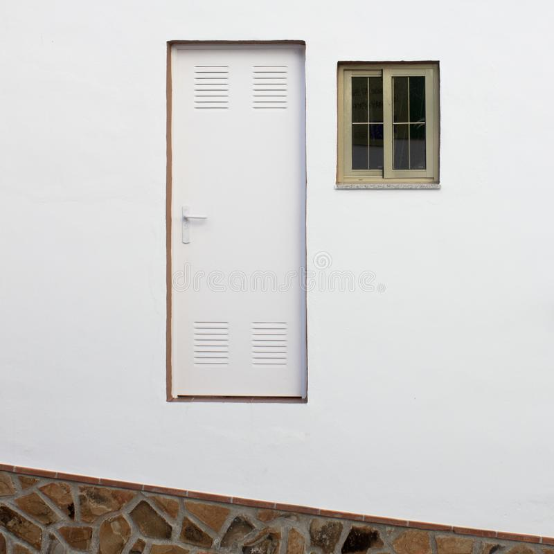 Невозможная дверь стоковое изображение rf