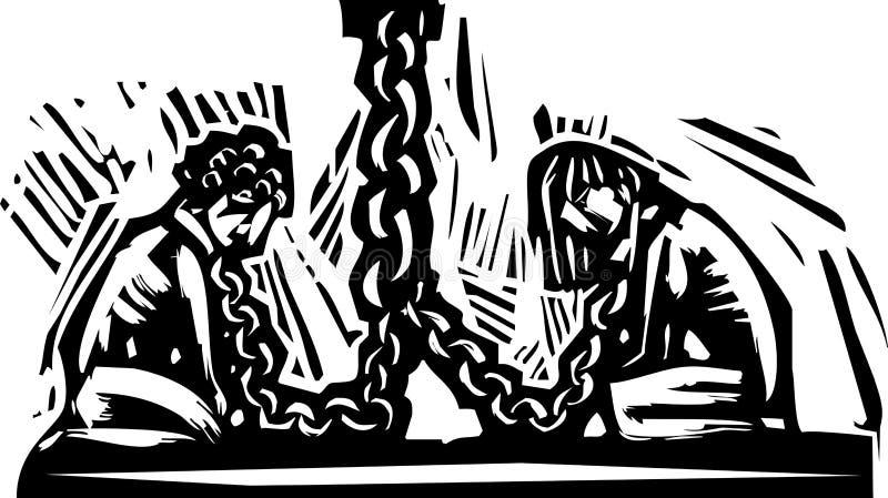 невольничество бесплатная иллюстрация
