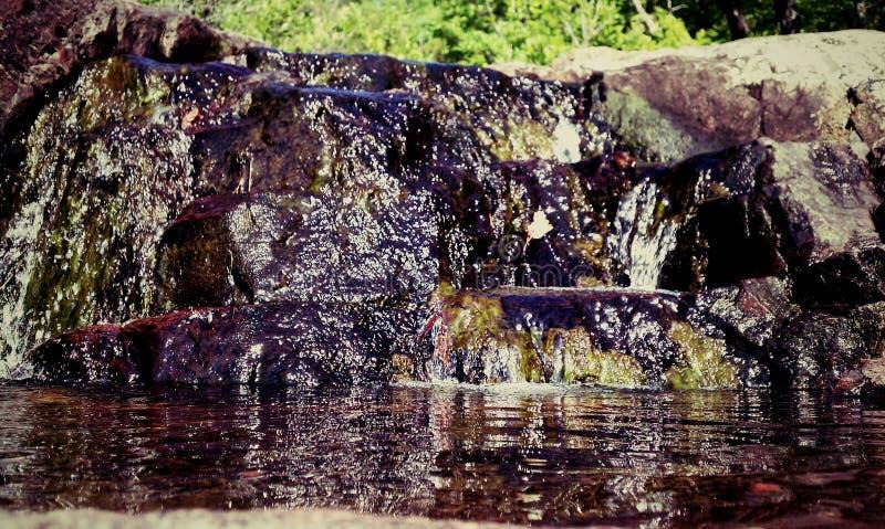 Нега водопада стоковые изображения rf