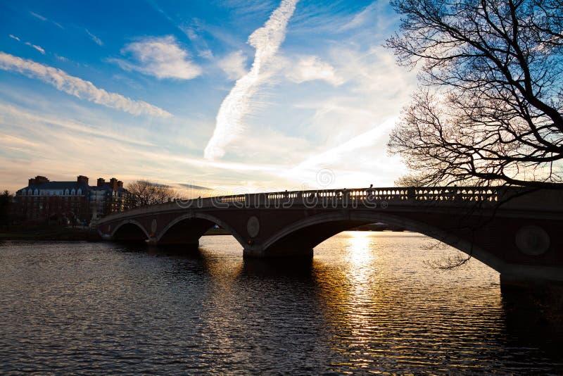 недели мемориала footbridge стоковое изображение rf