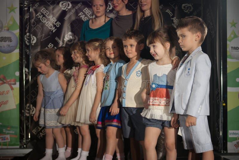 неделя способа ребенка Беларуси стоковые фото
