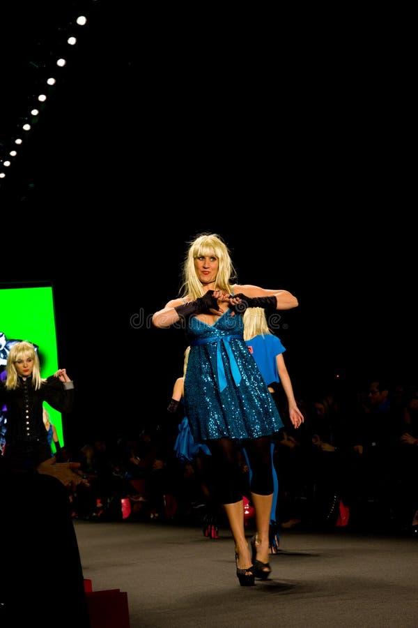 неделя 2011 johnson способа падения betsey стоковое фото rf