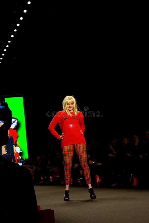 неделя 2011 johnson способа падения betsey стоковые фотографии rf