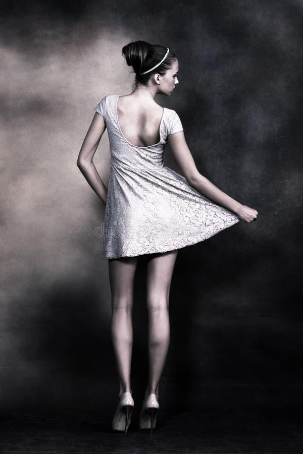 нежная женщина Стоковые Фотографии RF