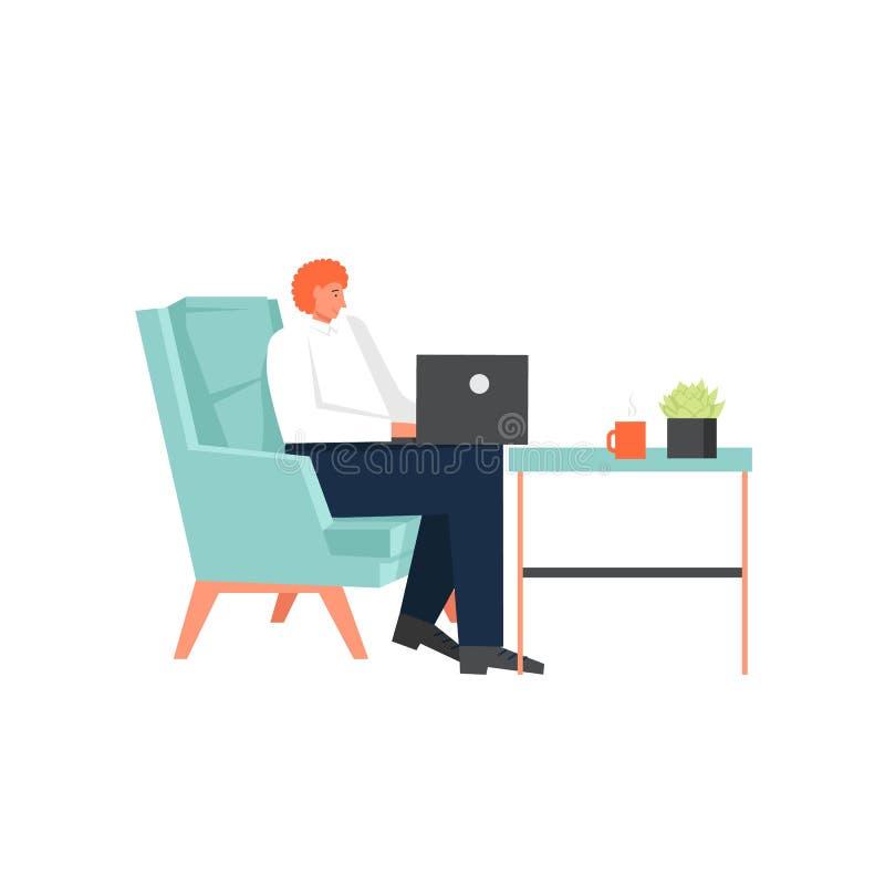 Независимое искусство, иллюстрация дизайна стиля вектора плоская бесплатная иллюстрация