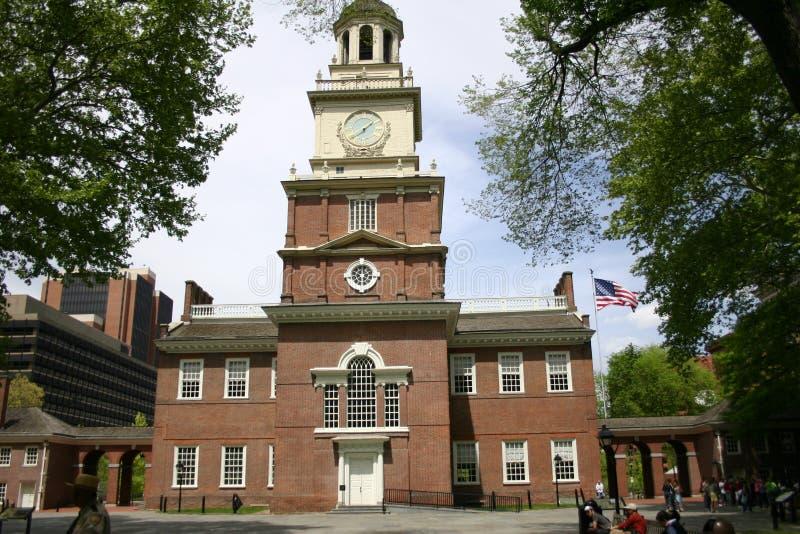 независимость philadelphia залы стоковое фото rf