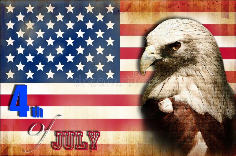 независимый дня америки иллюстрация штока