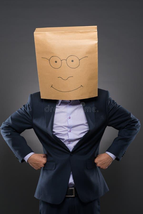 Неизвестный бизнесмен стоковые фото