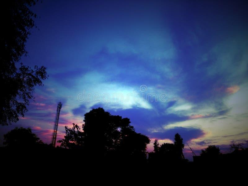 Неимоверное небо стоковые изображения rf