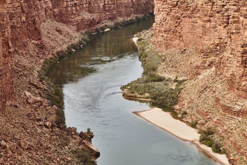 Неимоверно красивый вид от bridige на гранд-каньоне, Аризоны Навахо, США стоковые изображения