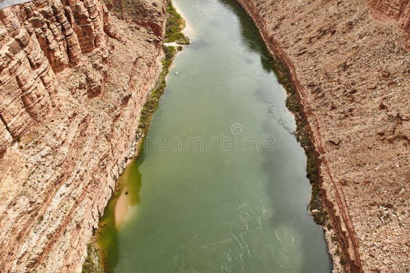 Неимоверно красивый вид от bridige на гранд-каньоне, Аризоны Навахо, США стоковая фотография rf