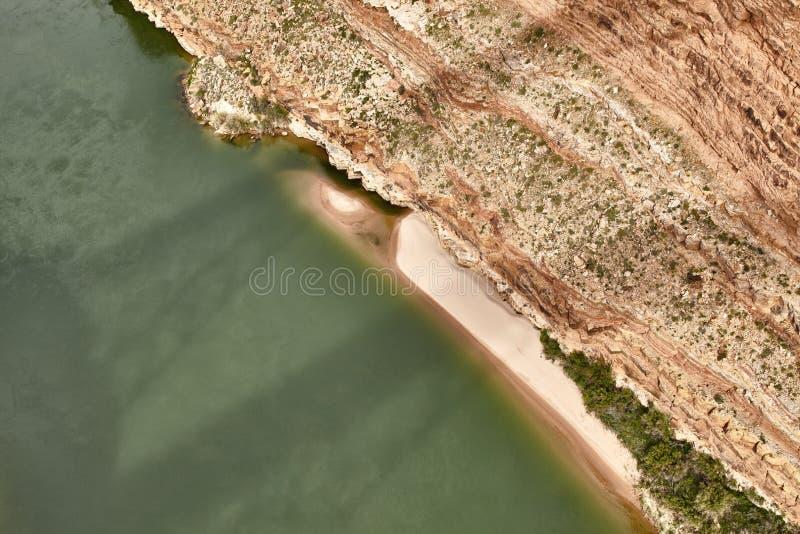 Неимоверно красивый вид от bridige на гранд-каньоне, Аризоны Навахо, США стоковое изображение rf