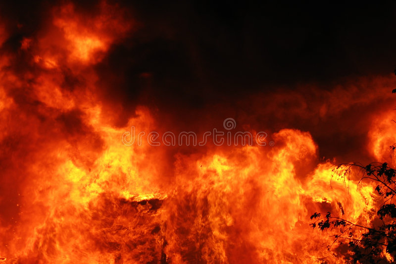 неистовство пламени стоковые фото
