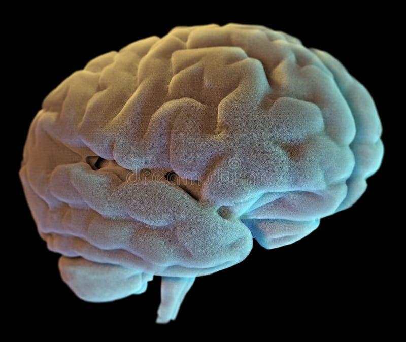 Нейроны синапс мозга, заболевание бесплатная иллюстрация