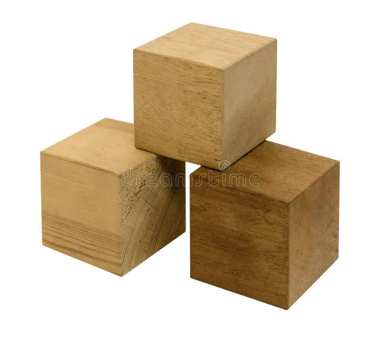 Деревянные кубики стоковые изображения
