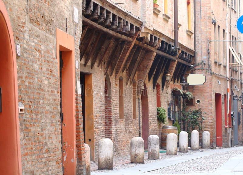 Некоторые детали средневековых итальянских городов стоковое фото rf
