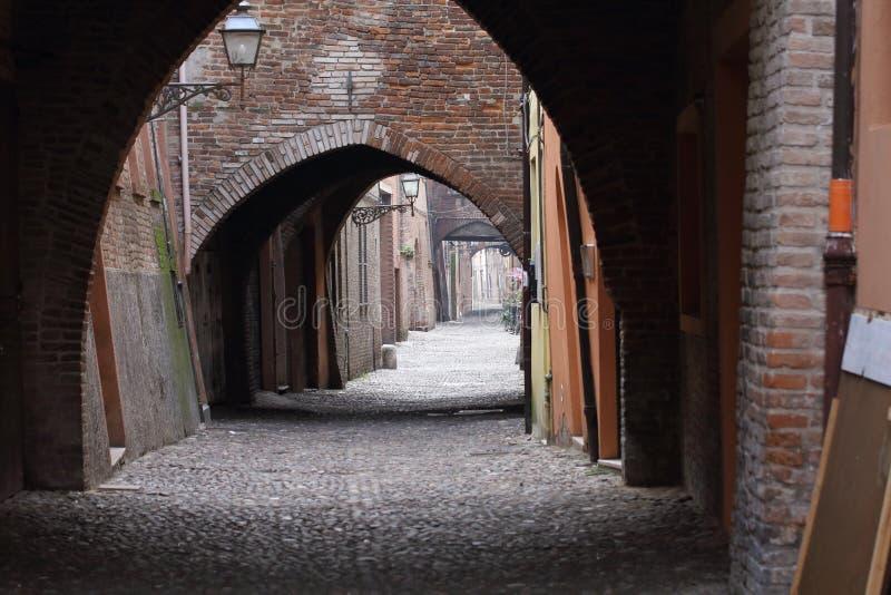 Некоторые детали средневековых итальянских городов стоковая фотография