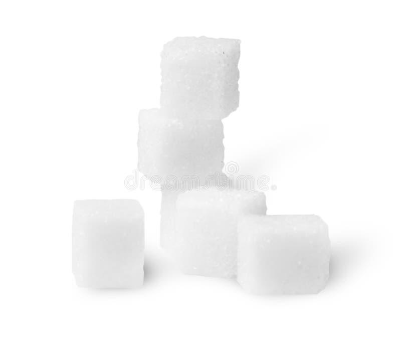Некоторые кубы сахара стоковые фотографии rf