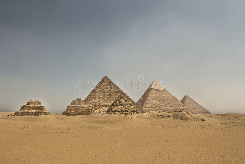 Некрополь Гизы стоковое изображение