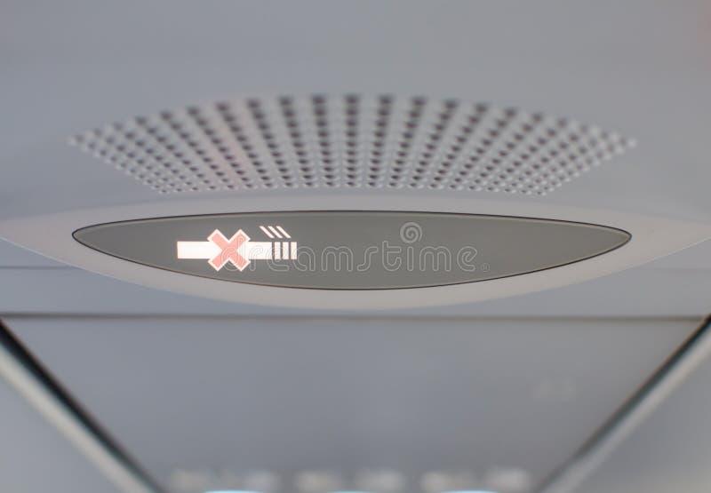 Некурящий знак зоны стоковое изображение rf