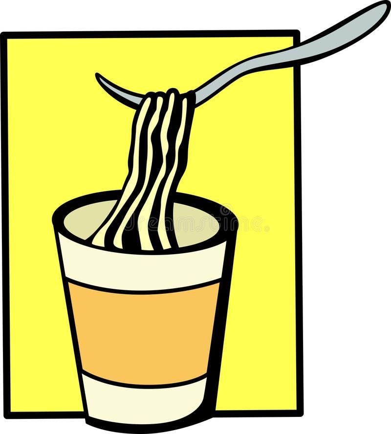 немедленный суп бесплатная иллюстрация