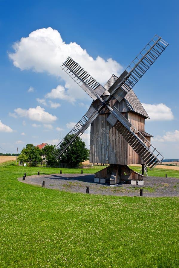 Немецкая историческая ветрянка стоковые изображения rf