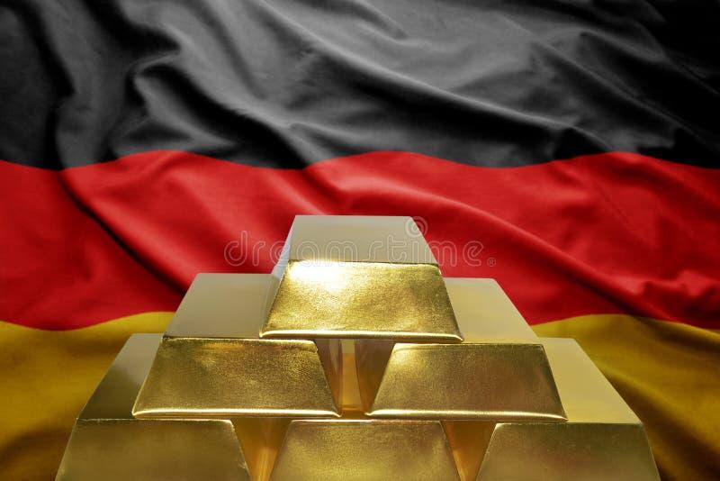 Немецкие золотые резервы стоковая фотография