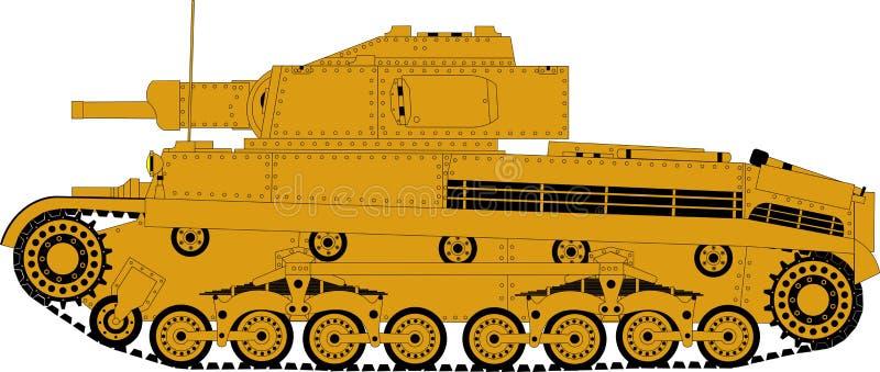 Немецкий боевой танк стоковое изображение