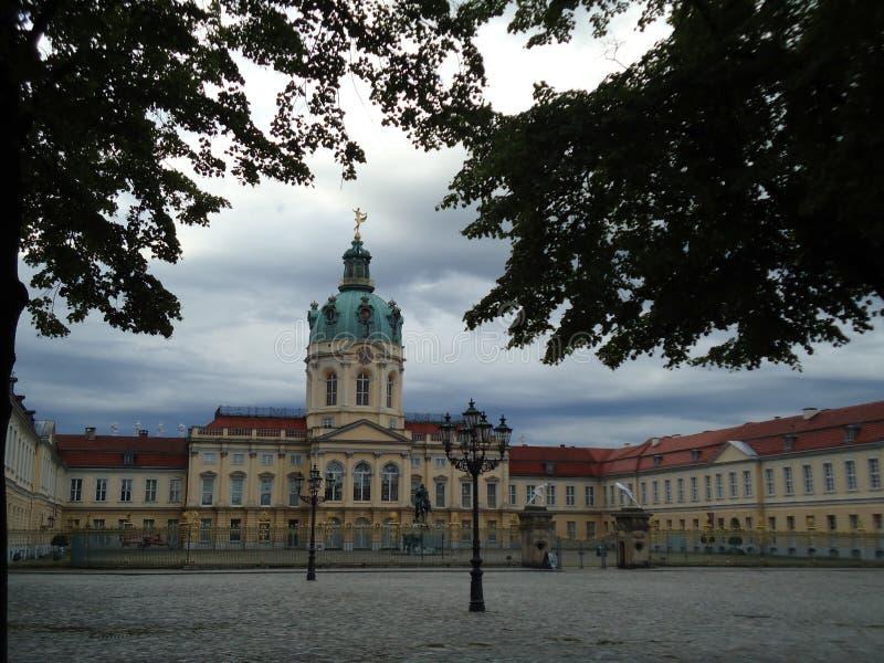 Немецкий дворец стоковые изображения rf
