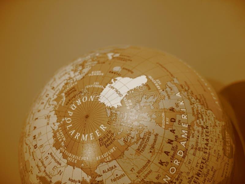 немецкий глобус Стоковые Фото