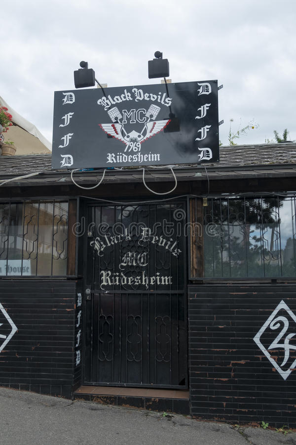 Немецкий дом встречи ангелов адов стоковое фото rf