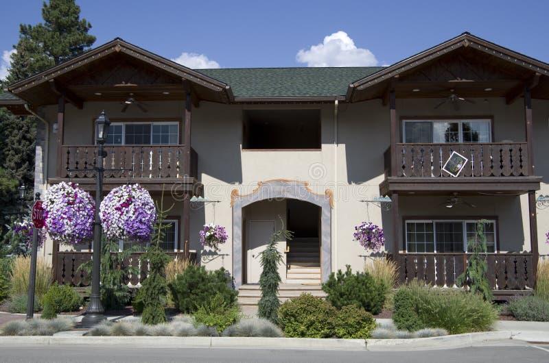 Немецкий дом Leavenworth стоковые фотографии rf