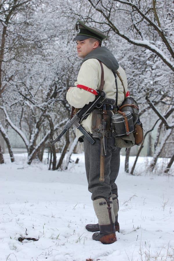 немецкий офицер ww2 стоковое изображение rf