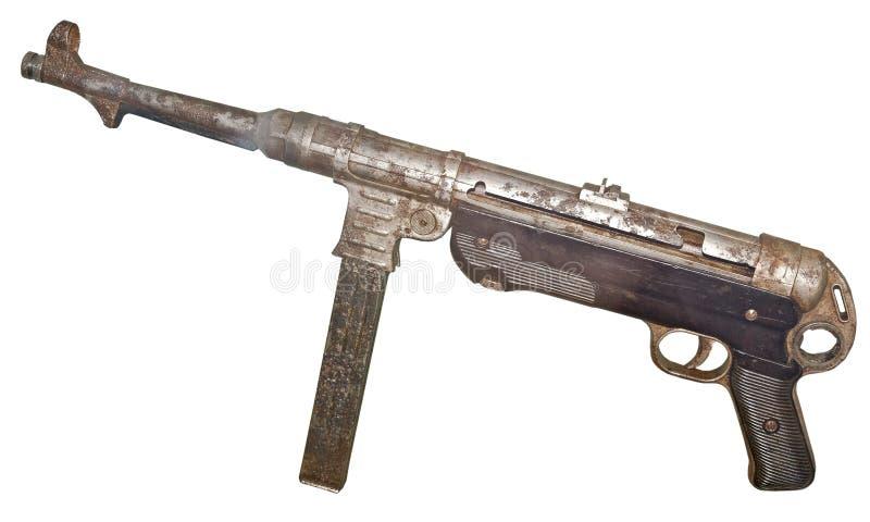 Немецкий пистолет-пулемет Mp40 стоковые изображения rf