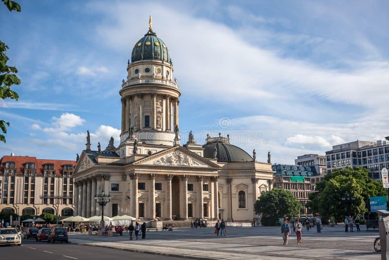 Немецкий собор в квадрате Gendarmenmarkt стоковые изображения rf